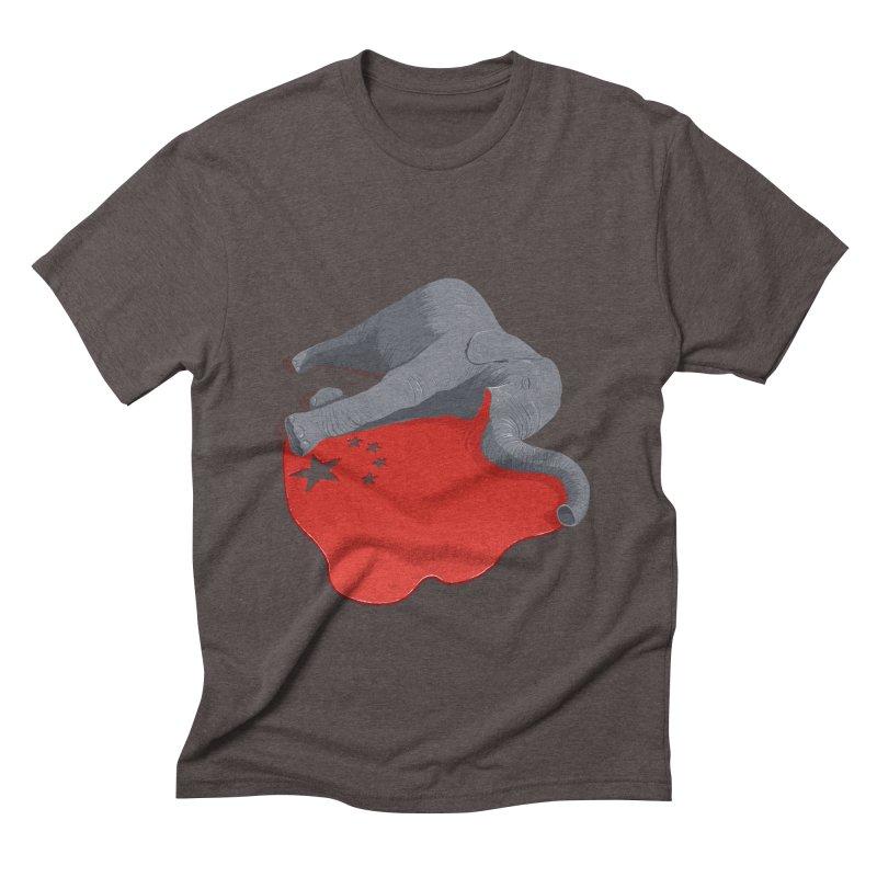 Stop Ivory Trade Men's Triblend T-shirt by steveash's Artist Shop