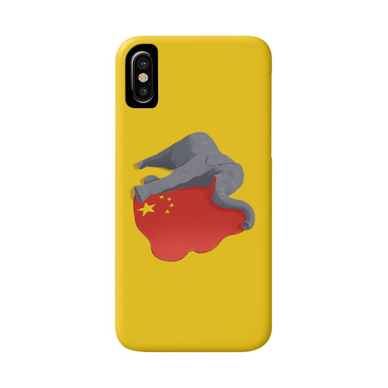 Stop Ivory Trade Accessories Phone Case by steveash's Artist Shop