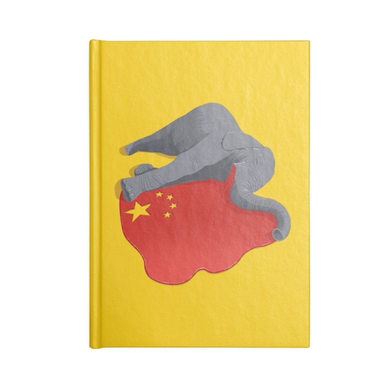 Stop Ivory Trade Accessories Notebook by steveash's Artist Shop