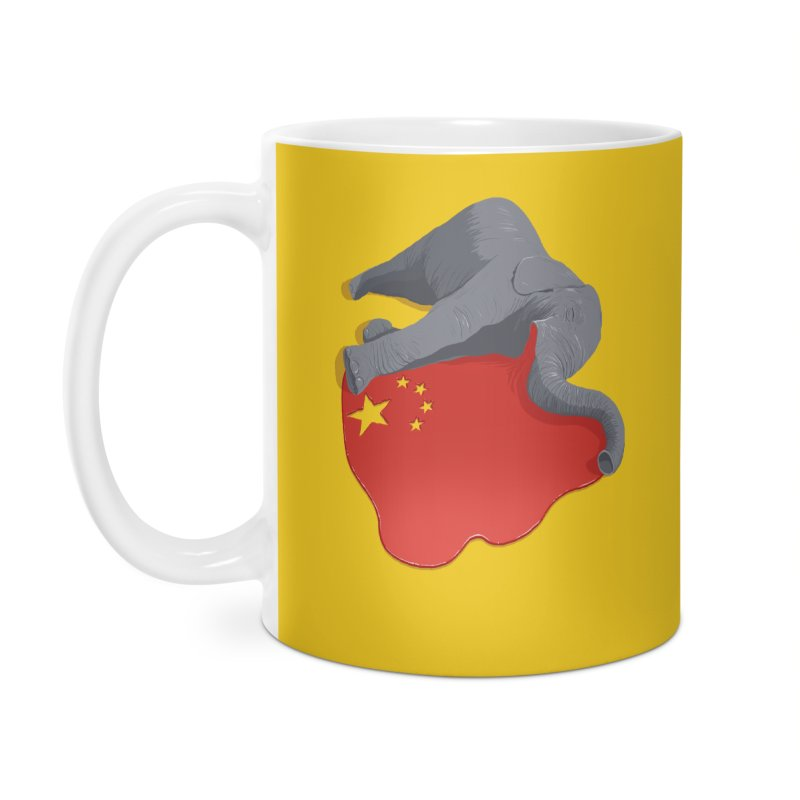 Stop Ivory Trade Accessories Mug by steveash's Artist Shop