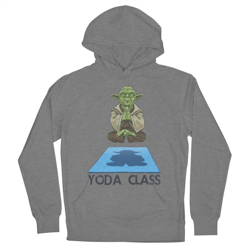 Yoda Class Men's French Terry Pullover Hoody by steveash's Artist Shop