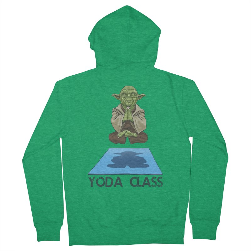 Yoda Class Women's Zip-Up Hoody by steveash's Artist Shop
