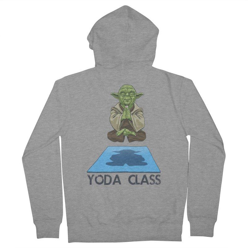 Yoda Class Men's Zip-Up Hoody by steveash's Artist Shop
