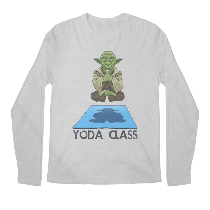 Yoda Class Men's Regular Longsleeve T-Shirt by steveash's Artist Shop