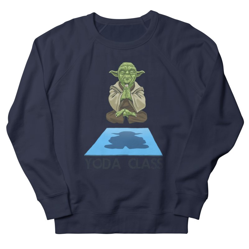 Yoda Class Men's French Terry Sweatshirt by steveash's Artist Shop