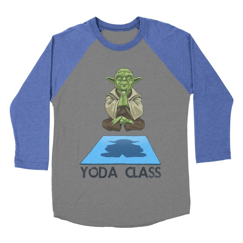Yoda Class Women's Baseball Triblend T-Shirt by steveash's Artist Shop