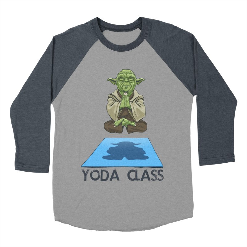 Yoda Class Women's Baseball Triblend Longsleeve T-Shirt by steveash's Artist Shop