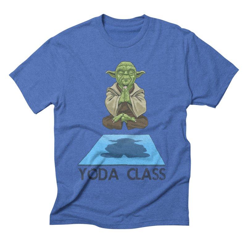Yoda Class Men's Triblend T-shirt by steveash's Artist Shop