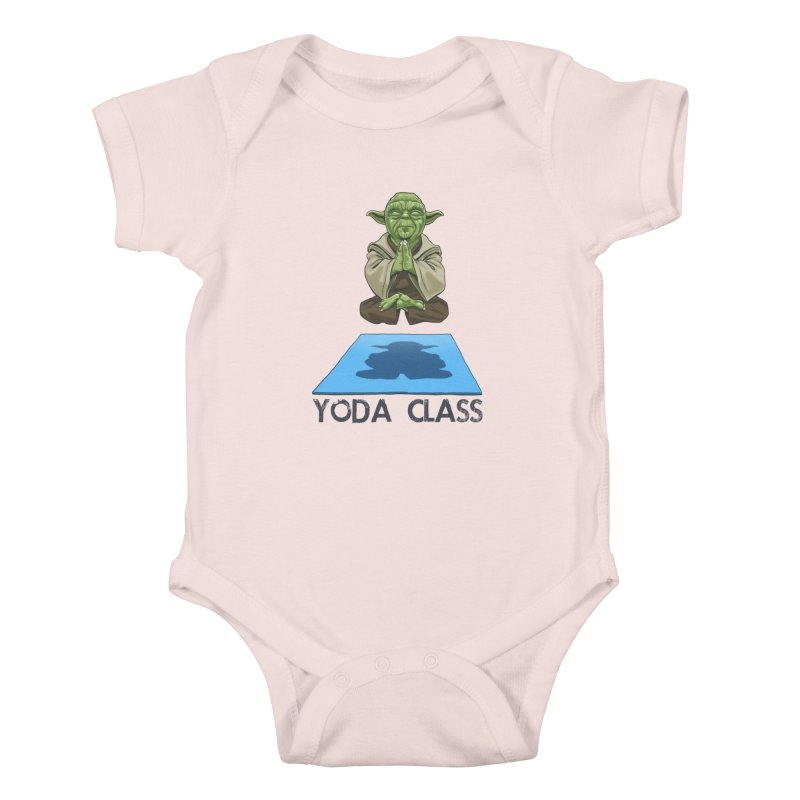Yoda Class Kids Baby Bodysuit by steveash's Artist Shop