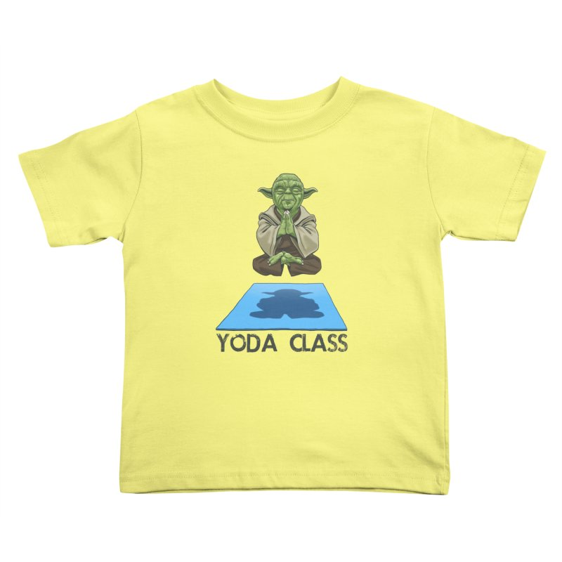 Yoda Class Kids Toddler T-Shirt by steveash's Artist Shop