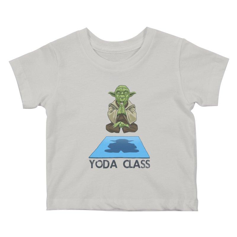 Yoda Class Kids Baby T-Shirt by steveash's Artist Shop