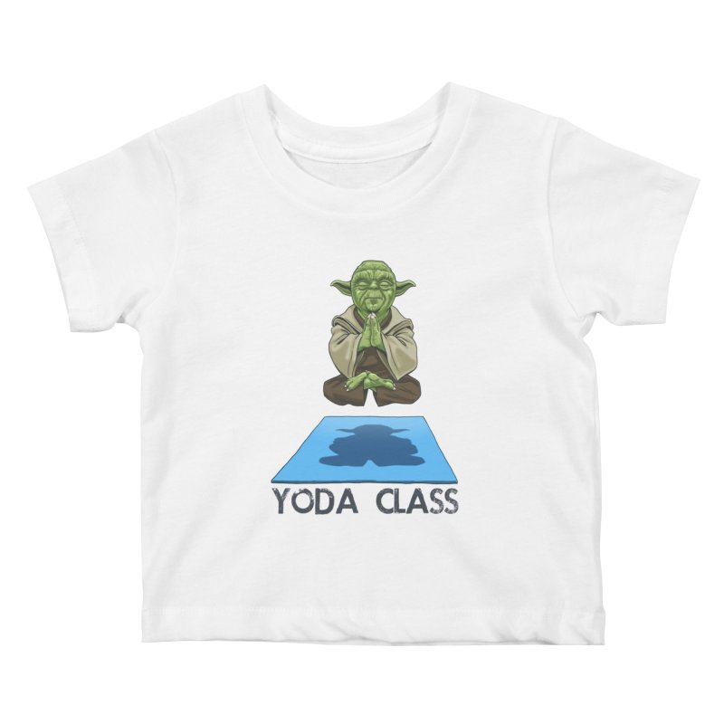 Yoda Class Kids Baby T-Shirt by steveash's Artist Shop