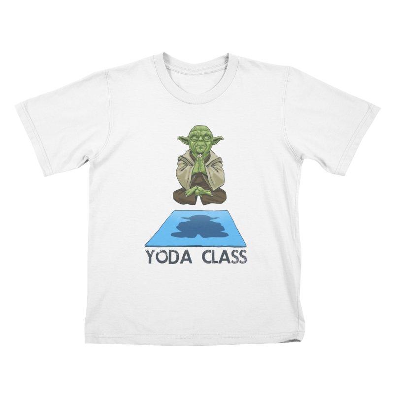 Yoda Class Kids T-shirt by steveash's Artist Shop