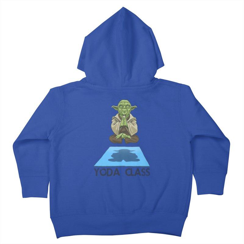 Yoda Class Kids Toddler Zip-Up Hoody by steveash's Artist Shop