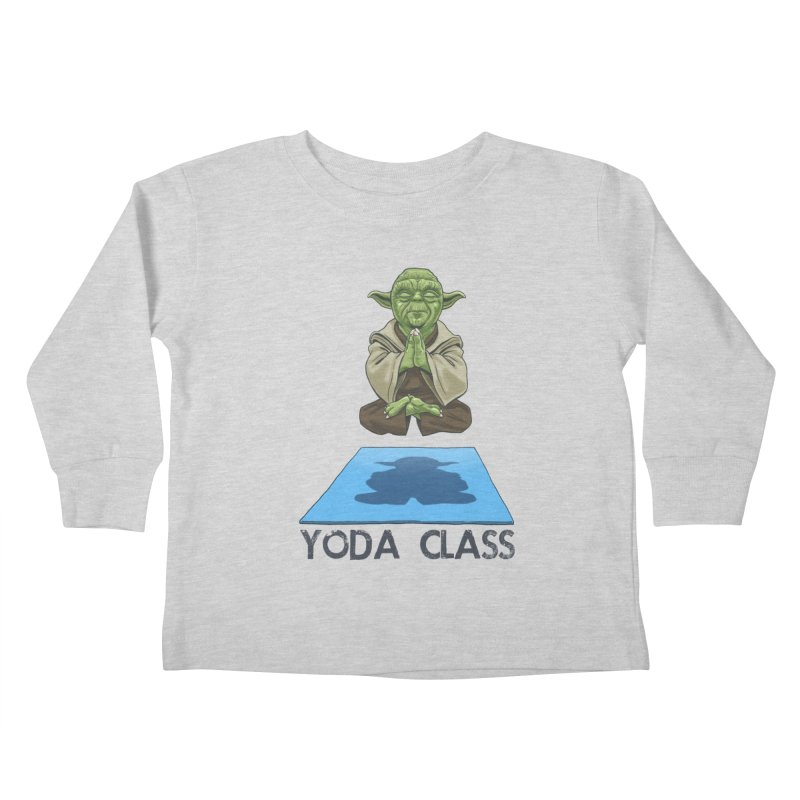 Yoda Class Kids Toddler Longsleeve T-Shirt by steveash's Artist Shop