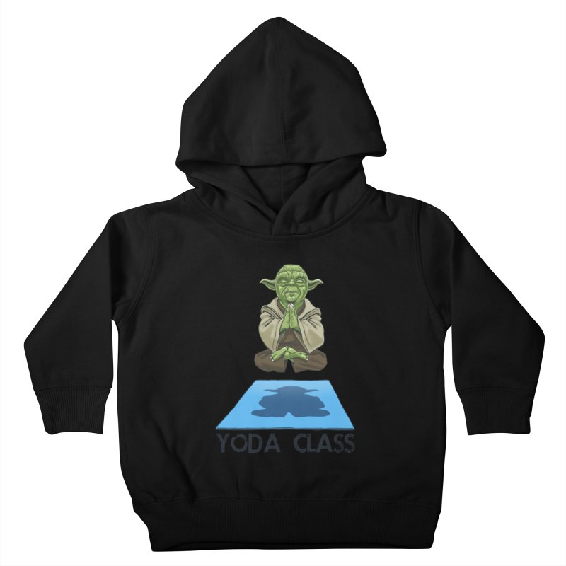 Yoda Class Kids Toddler Pullover Hoody by steveash's Artist Shop