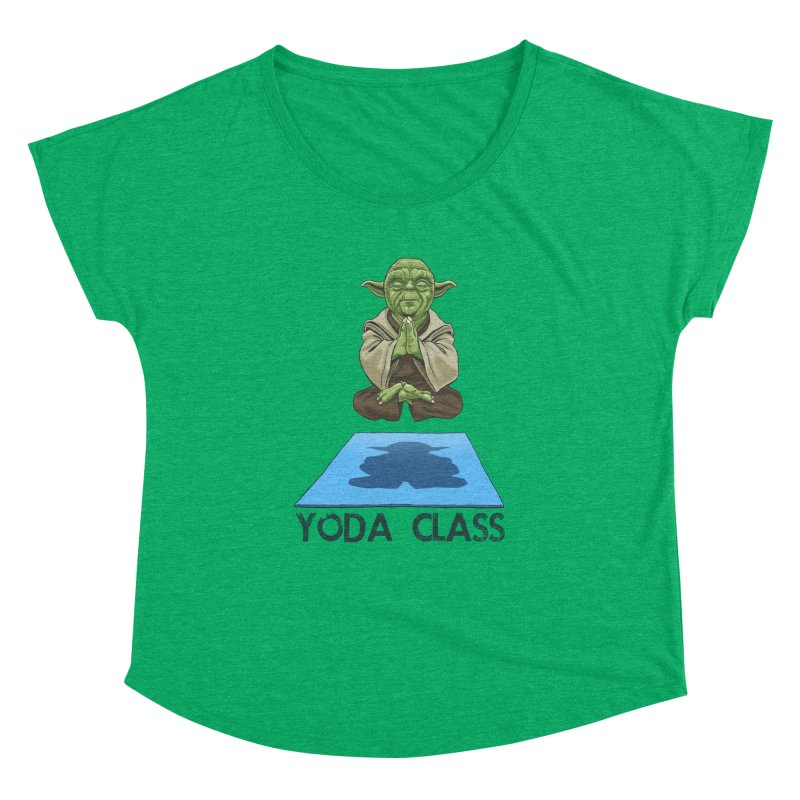 Yoda Class Women's Dolman by steveash's Artist Shop