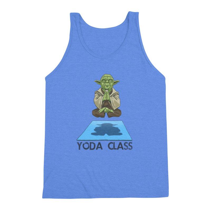 Yoda Class Men's Triblend Tank by steveash's Artist Shop