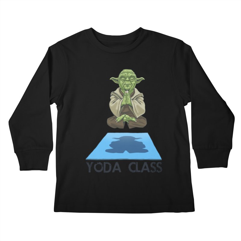 Yoda Class Kids Longsleeve T-Shirt by steveash's Artist Shop