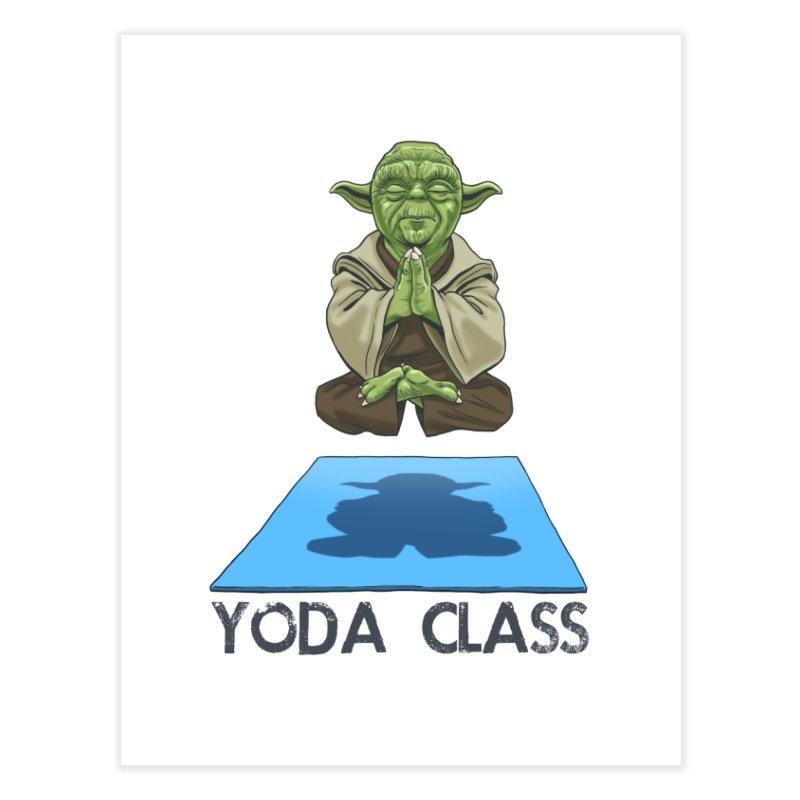 Yoda Class Home Fine Art Print by steveash's Artist Shop