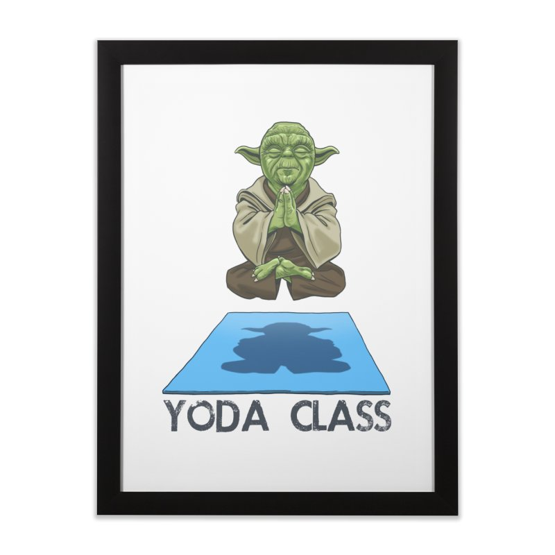 Yoda Class Home Framed Fine Art Print by steveash's Artist Shop