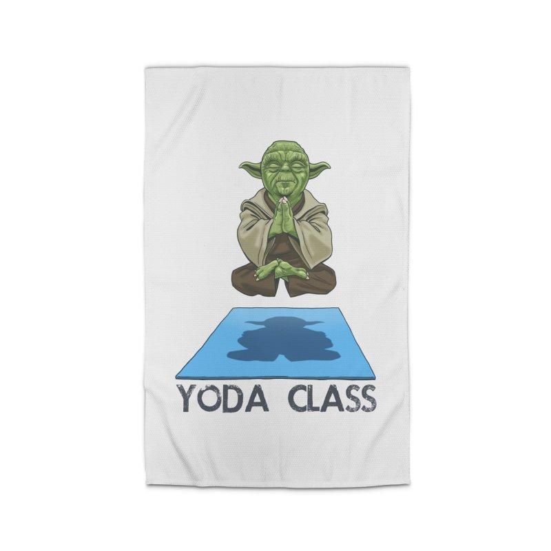 Yoda Class Home Rug by steveash's Artist Shop