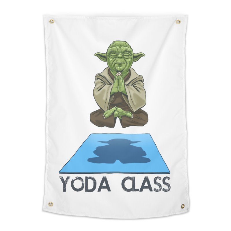 Yoda Class Home Tapestry by steveash's Artist Shop