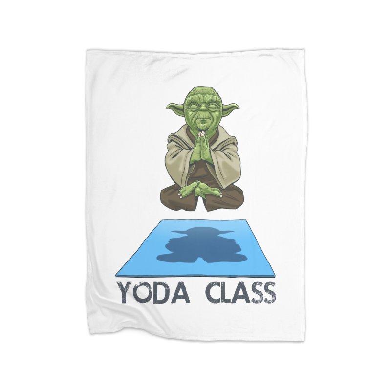 Yoda Class Home Blanket by steveash's Artist Shop