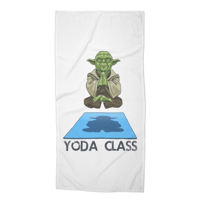 Yoda Class Accessories Beach Towel by steveash's Artist Shop