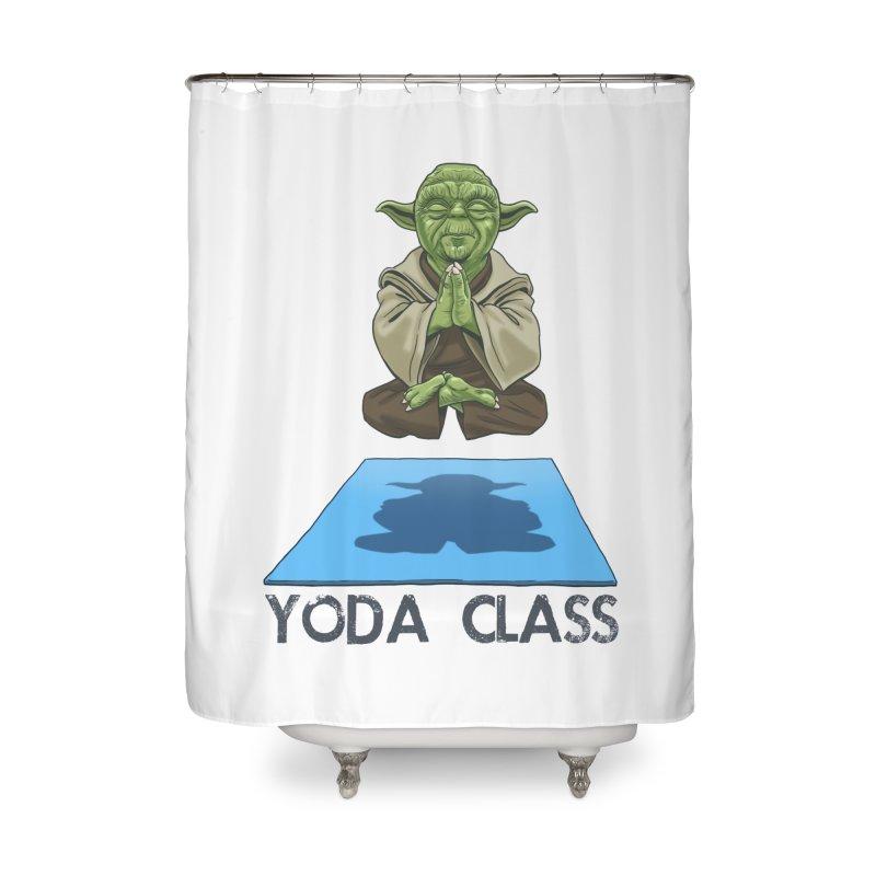 Yoda Class Home Shower Curtain by steveash's Artist Shop