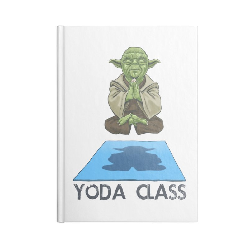 Yoda Class Accessories Notebook by steveash's Artist Shop