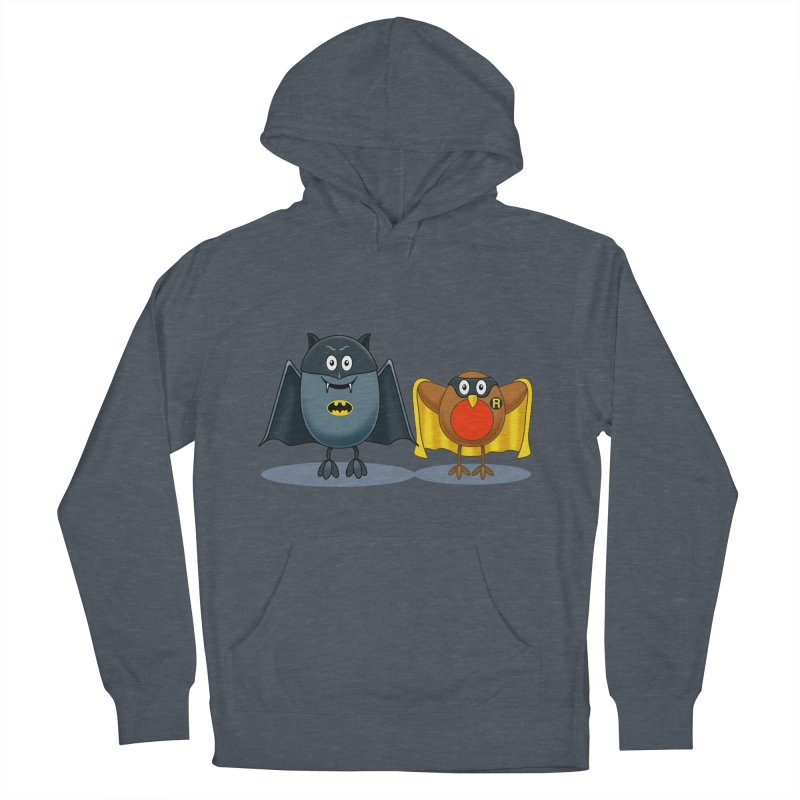 Bat and Robin Men's Pullover Hoody by steveash's Artist Shop