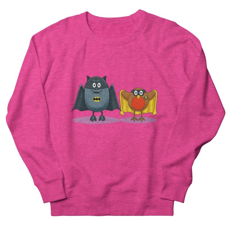 Bat and Robin Men's Sweatshirt by steveash's Artist Shop