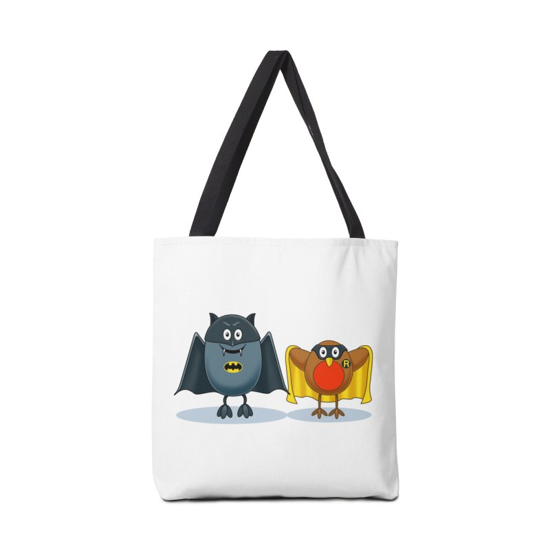 Bat and Robin Accessories Bag by steveash's Artist Shop
