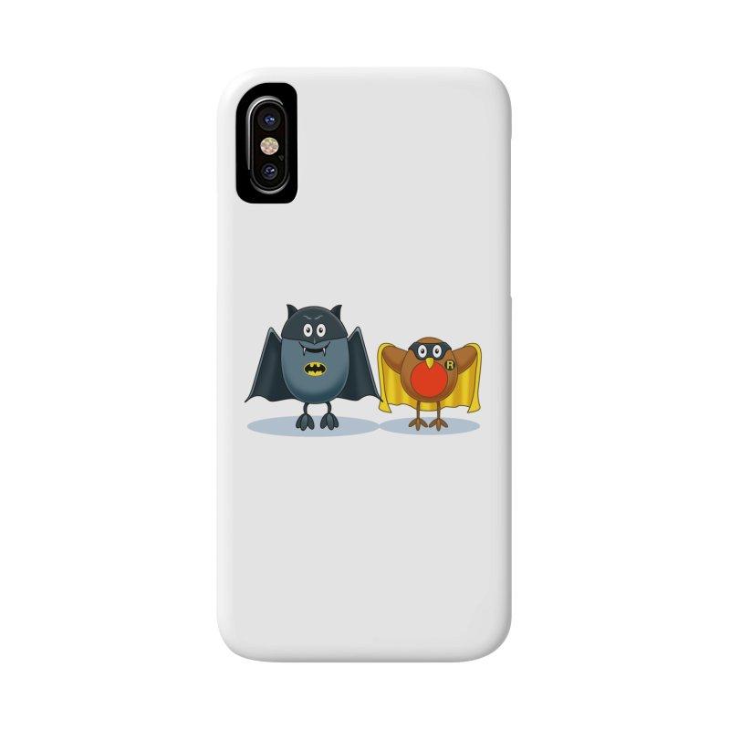 Bat and Robin Accessories Phone Case by steveash's Artist Shop