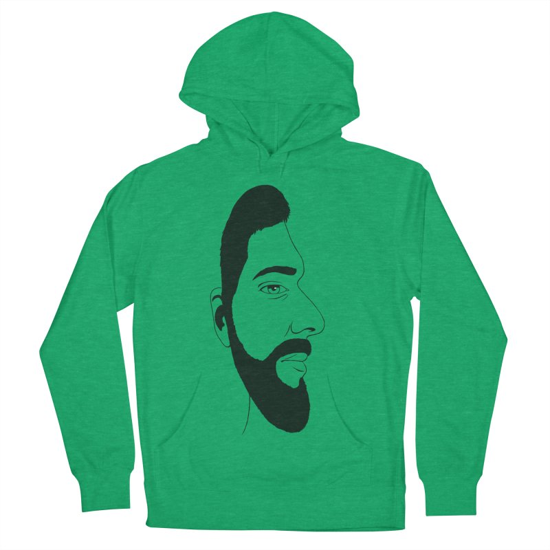 Face of Deception Men's French Terry Pullover Hoody by steveash's Artist Shop