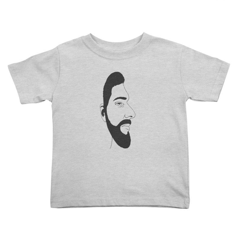 Face of Deception Kids Toddler T-Shirt by steveash's Artist Shop