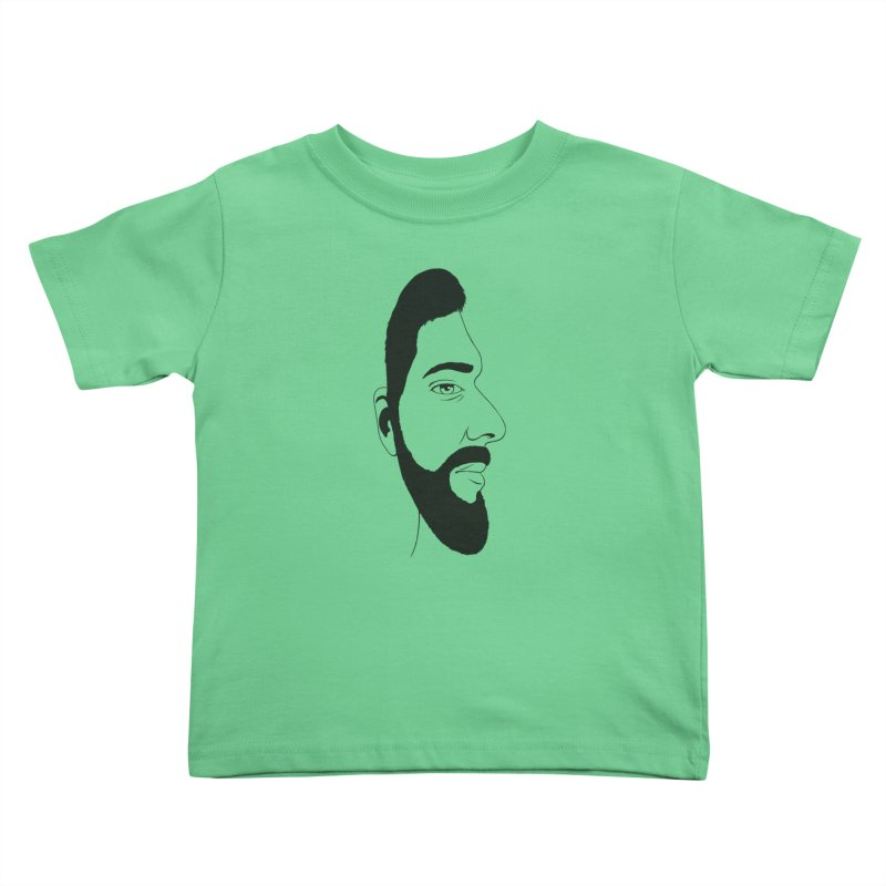 Face of Deception Kids Toddler T-Shirt by steveash's Artist Shop