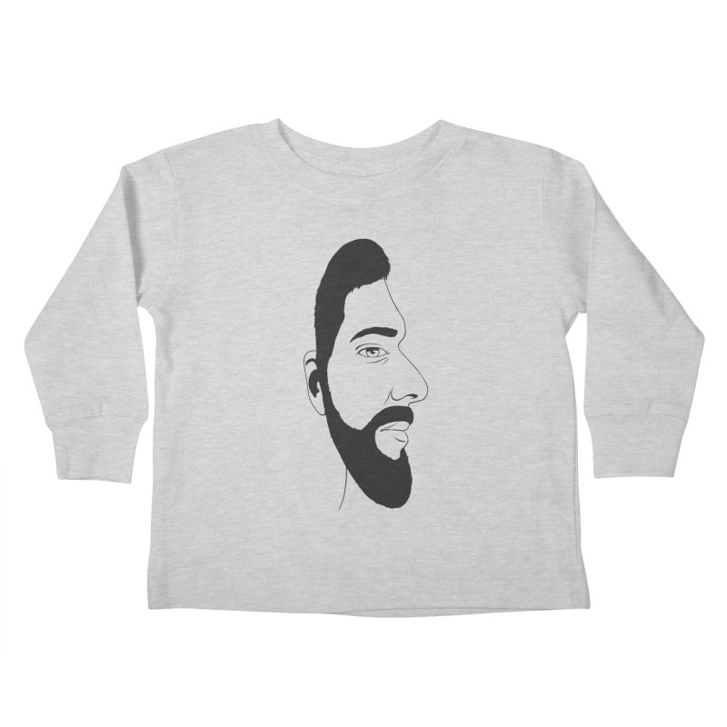 Face of Deception Kids Toddler Longsleeve T-Shirt by steveash's Artist Shop