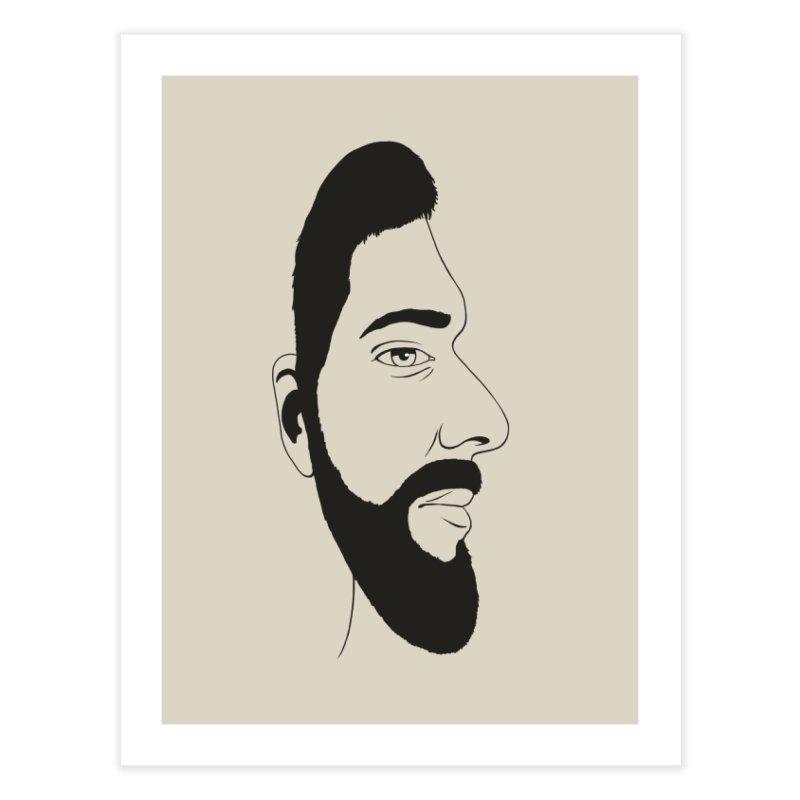 Face of Deception Home Fine Art Print by steveash's Artist Shop