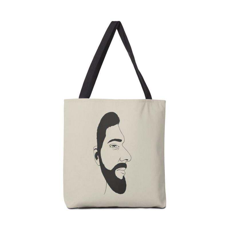 Face of Deception Accessories Bag by steveash's Artist Shop