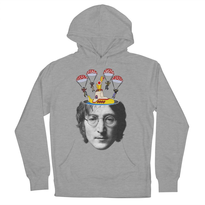 Lennon Women's Pullover Hoody by steveash's Artist Shop
