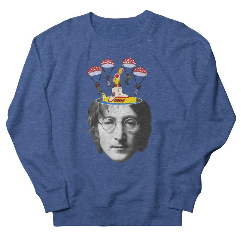 Lennon Men's Sweatshirt by steveash's Artist Shop
