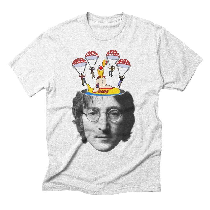 Lennon Men's Triblend T-shirt by steveash's Artist Shop