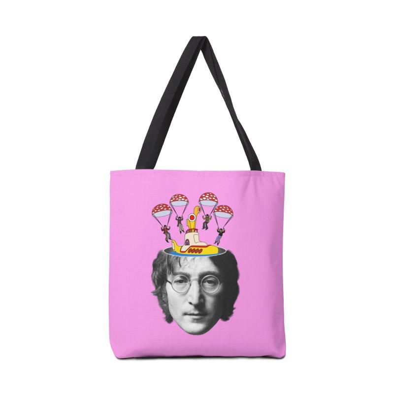 Lennon Accessories Bag by steveash's Artist Shop