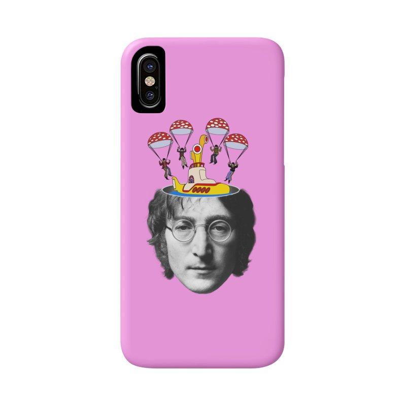 Lennon Accessories Phone Case by steveash's Artist Shop