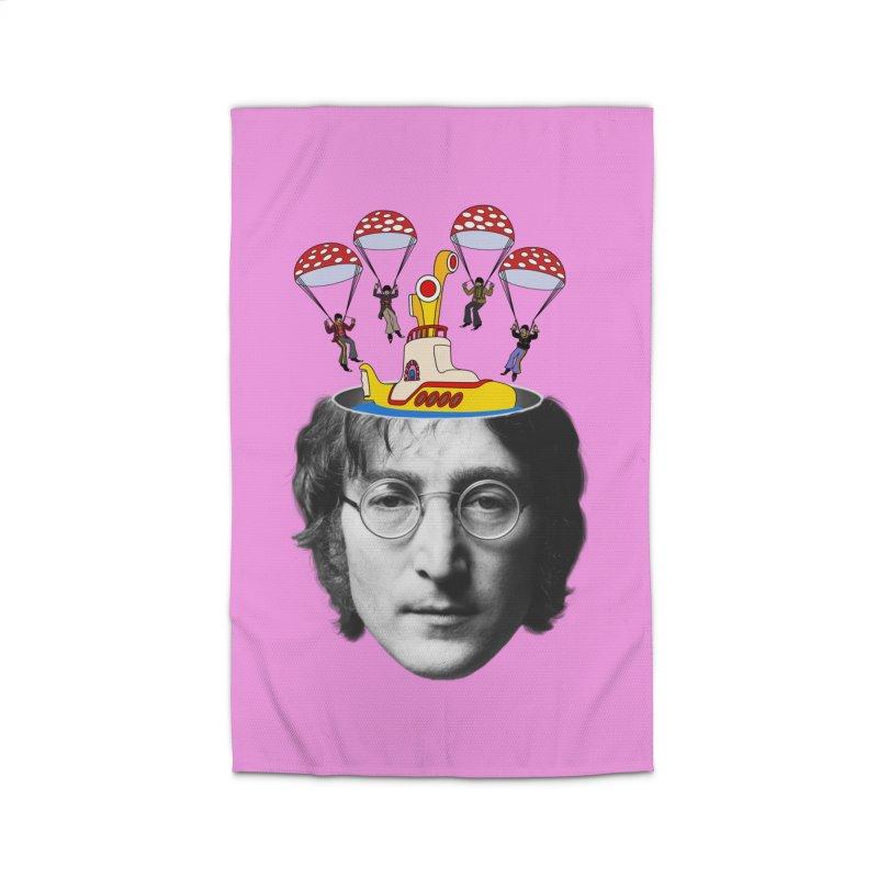 Lennon Home Rug by steveash's Artist Shop