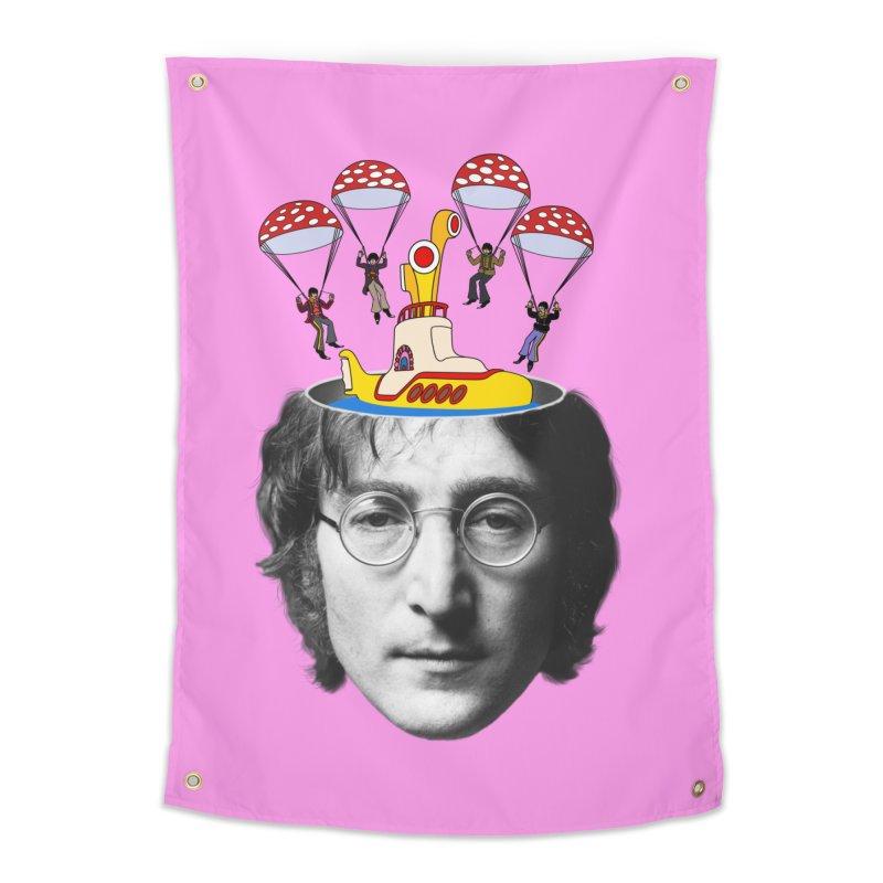 Lennon Home Tapestry by steveash's Artist Shop