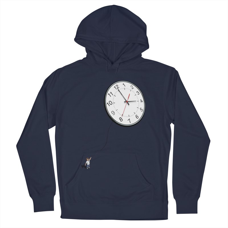 Time Flies Men's Pullover Hoody by steveash's Artist Shop