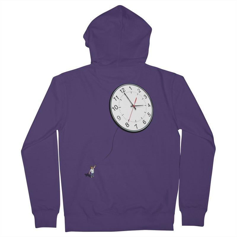 Time Flies Women's Zip-Up Hoody by steveash's Artist Shop